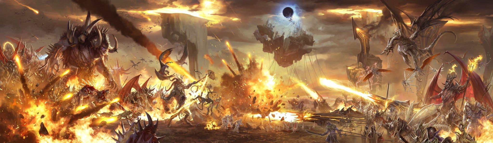 """descent into avernus blood war La Guerra Sanguinosa continua in 5a - by Mike """"Daarken"""" Lim Baldur's Gate Descent into Avernus, DM screen della GF9 (2013-10) © WOTC, GF9 e dell'autore"""