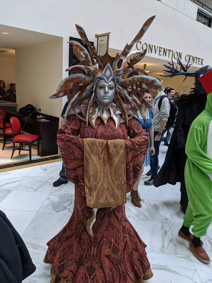 """bleedgeeks """"Lady of Pain"""" costume! - cosplayer @bleedgeeks foto dal Super MAGFest 2020 a Washington (2020-01) © del costumista e del fotografo, tutti i diritti riservati"""