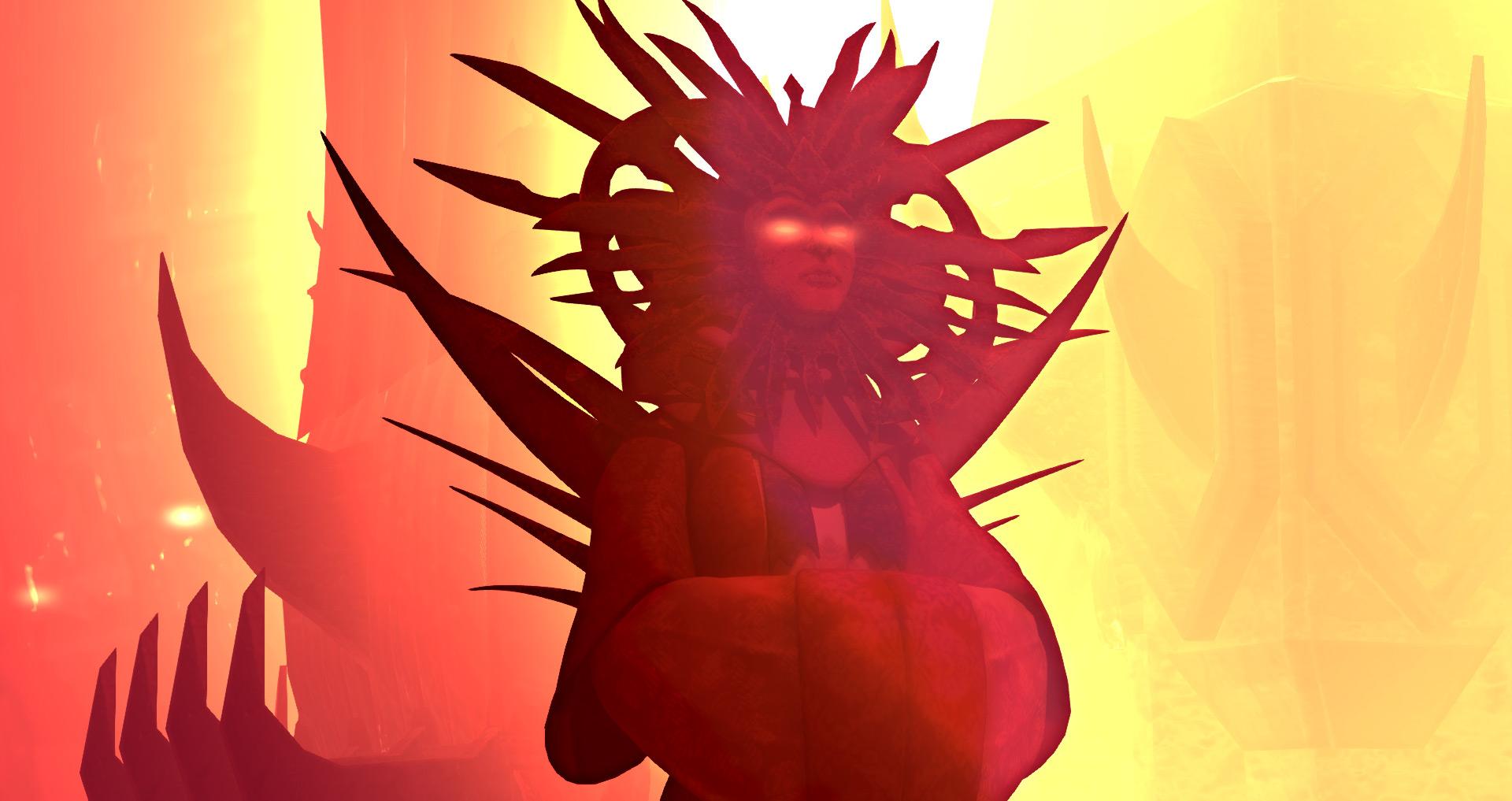 lady of pain ingame secondlife sigil Tramonto da paura, screen di gioco della Signora del Dolore nell'HUD di ruolo di SecondLife di ambientazione Planescape sigilsm.com (2018-08) © dell'autore, tutti i diritti riservati