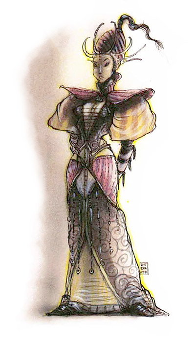 anarch's guild sect Gilda degli Anarchi - by Tony Diterlizzi TSR - Planes of Chaos Boxed Set (1994) © Wizards of the Coast & Hasbro