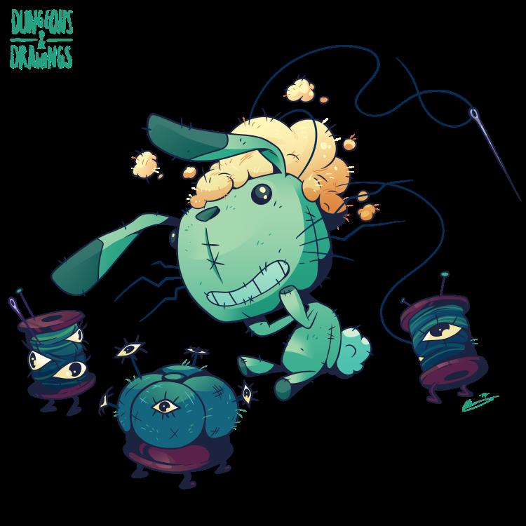 "dungeonsanddrawings ""Animated Objects"" - by Blanca Martinez de Rituerto dungeonsanddrawings.blogspot.com (2018-01) © dell'autore tutti i diritti riservati"