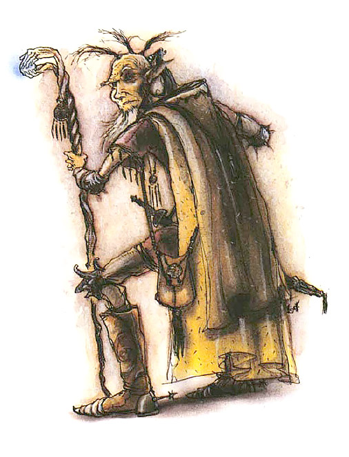 converts sect Setta dei Trasformisti - by Tony Diterlizzi TSR - Planesof Chaos Boxed Set (1994) © Wizards of the Coast & Hasbro