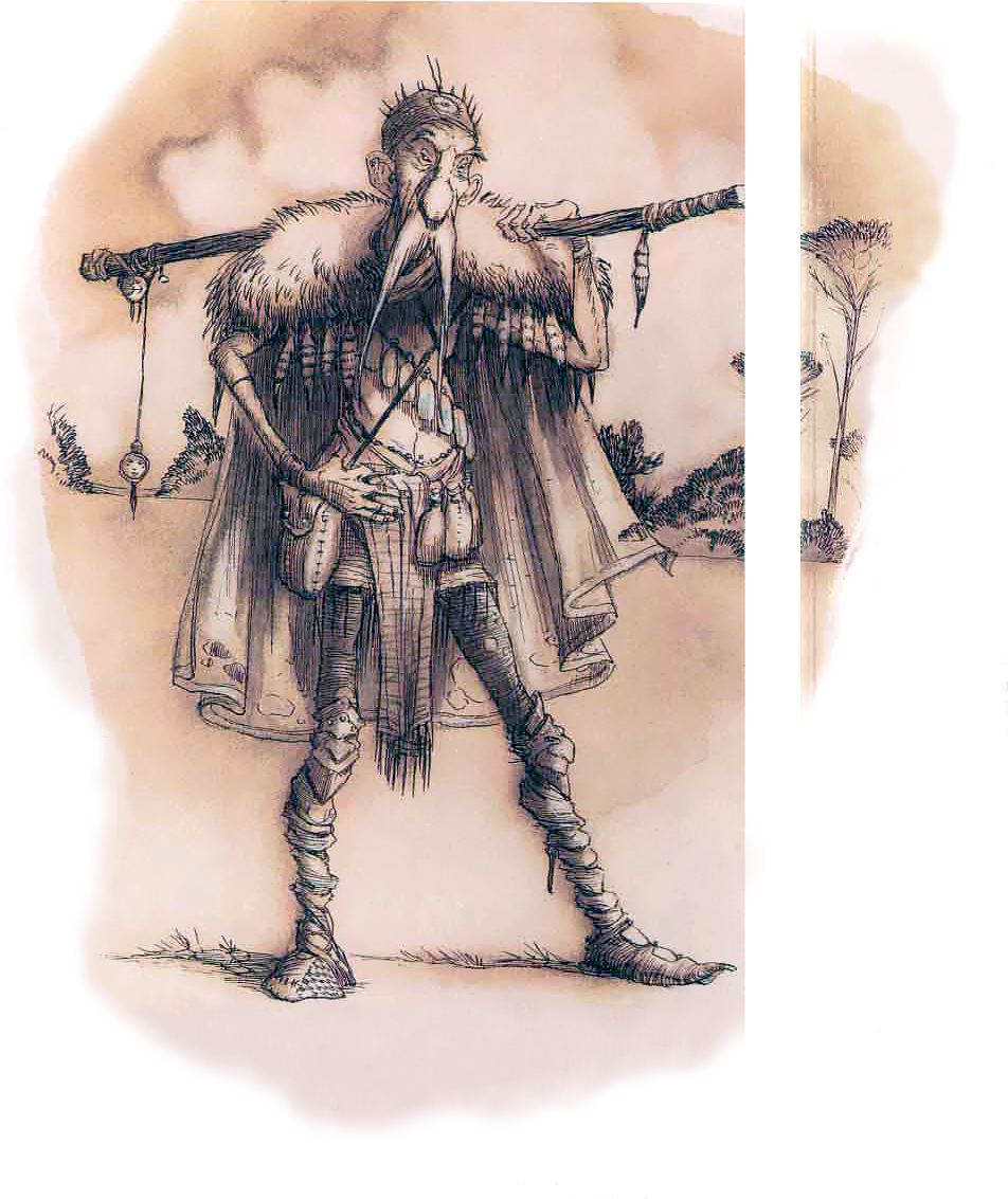 incantifer sect Incantifer, un Bramoso dell'Incanterium - by Tony Diterlizzi TSR - Planescape Monstrous Compendium Appendix II (1995) © Wizards of the Coast & Hasbro