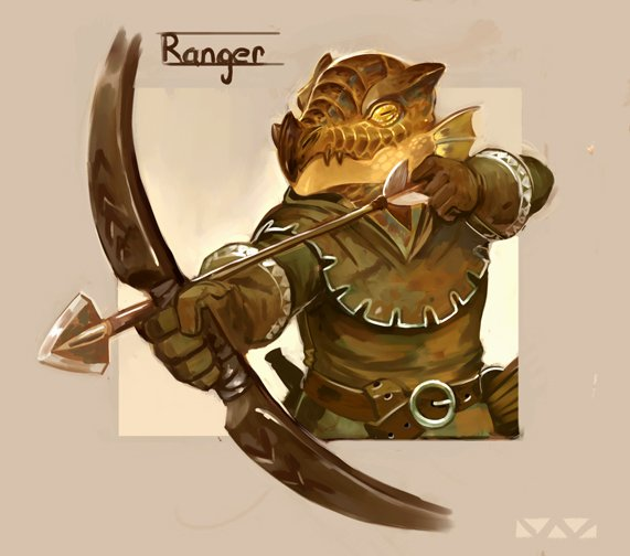 stephen-wood Coboldo ranger, ritratto - by Stephen Wood twitter.com/stevethegoblin (2018-04) © dell'autore, tutti i diritti riservati