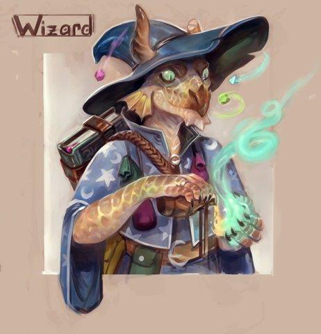 stephen-wood Coboldo mago, ritratto - by Stephen Wood twitter.com/stevethegoblin (2018-04) © dell'autore, tutti i diritti riservati
