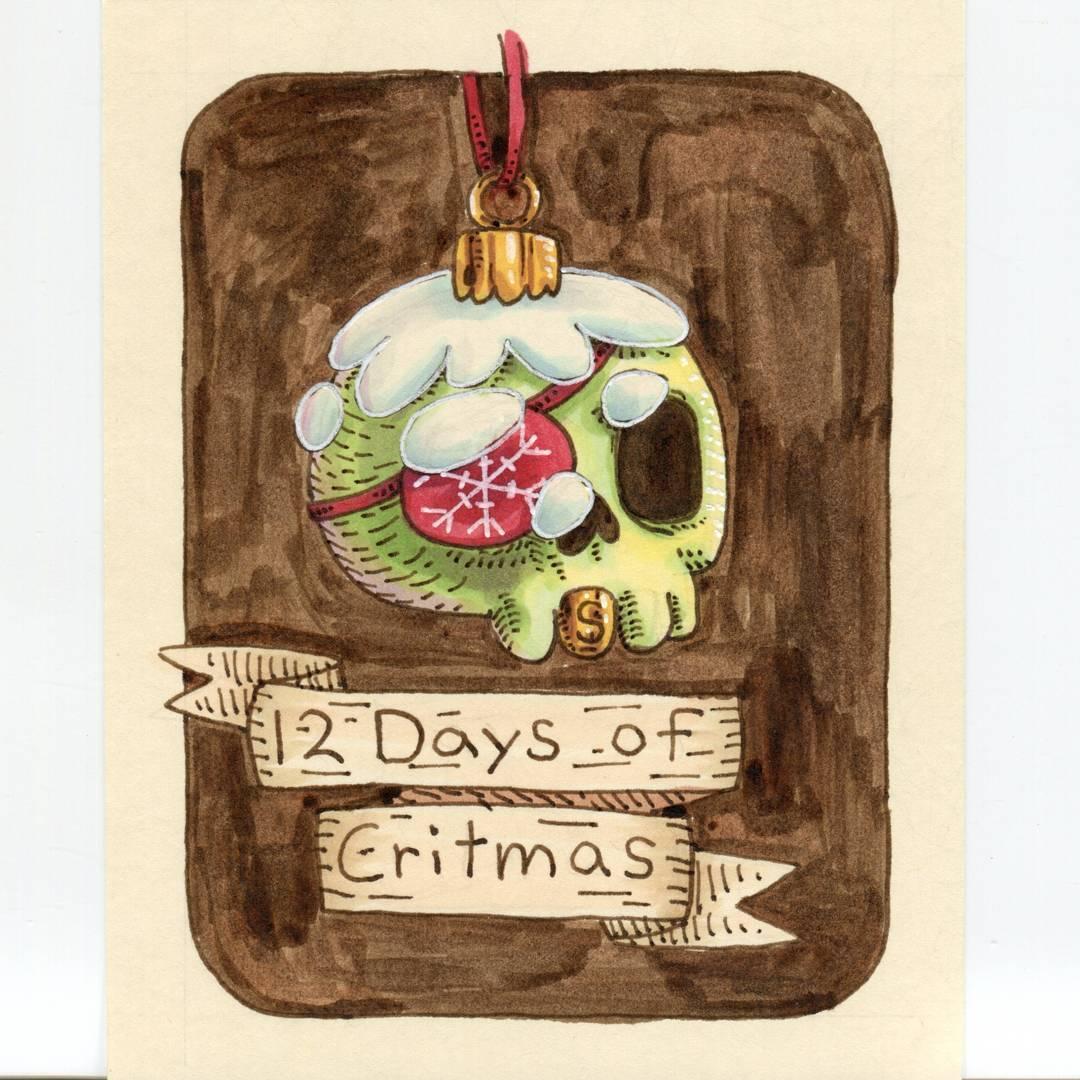"redjarojam ""12 Days of Critmas"" - by Jared DeCosta (redjarojam) www.instagram.com/redjarojam (2017-12) © dell'autore tutti i diritti riservati"