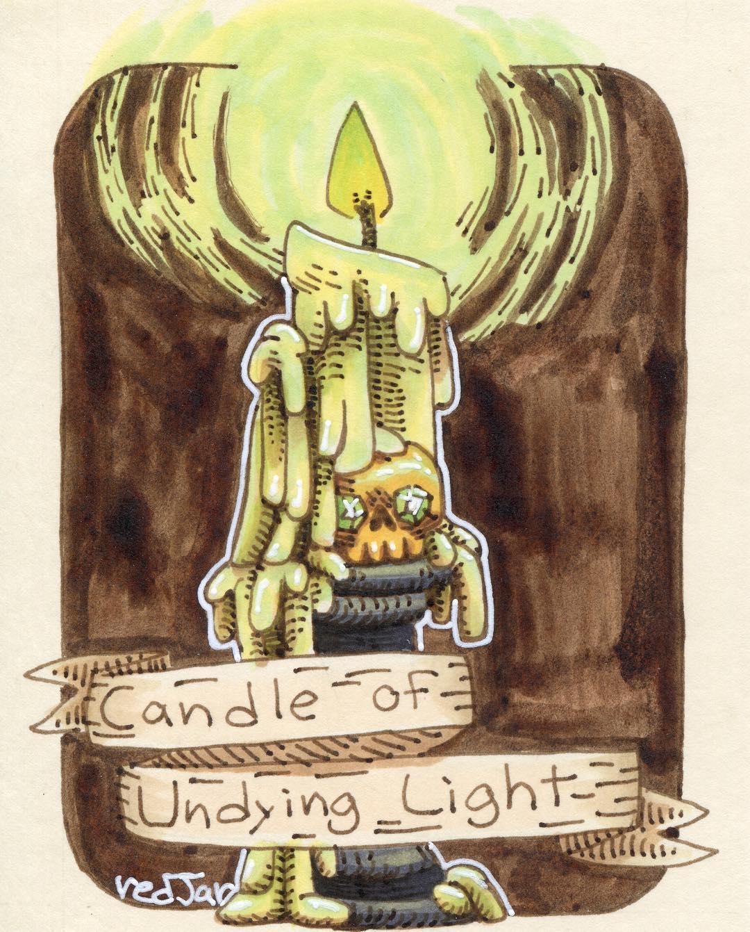 "redjarojam ""Candle of Undying Light"" - by Jared DeCosta (redjarojam) www.instagram.com/redjarojam (2017-03) © dell'autore tutti i diritti riservati"