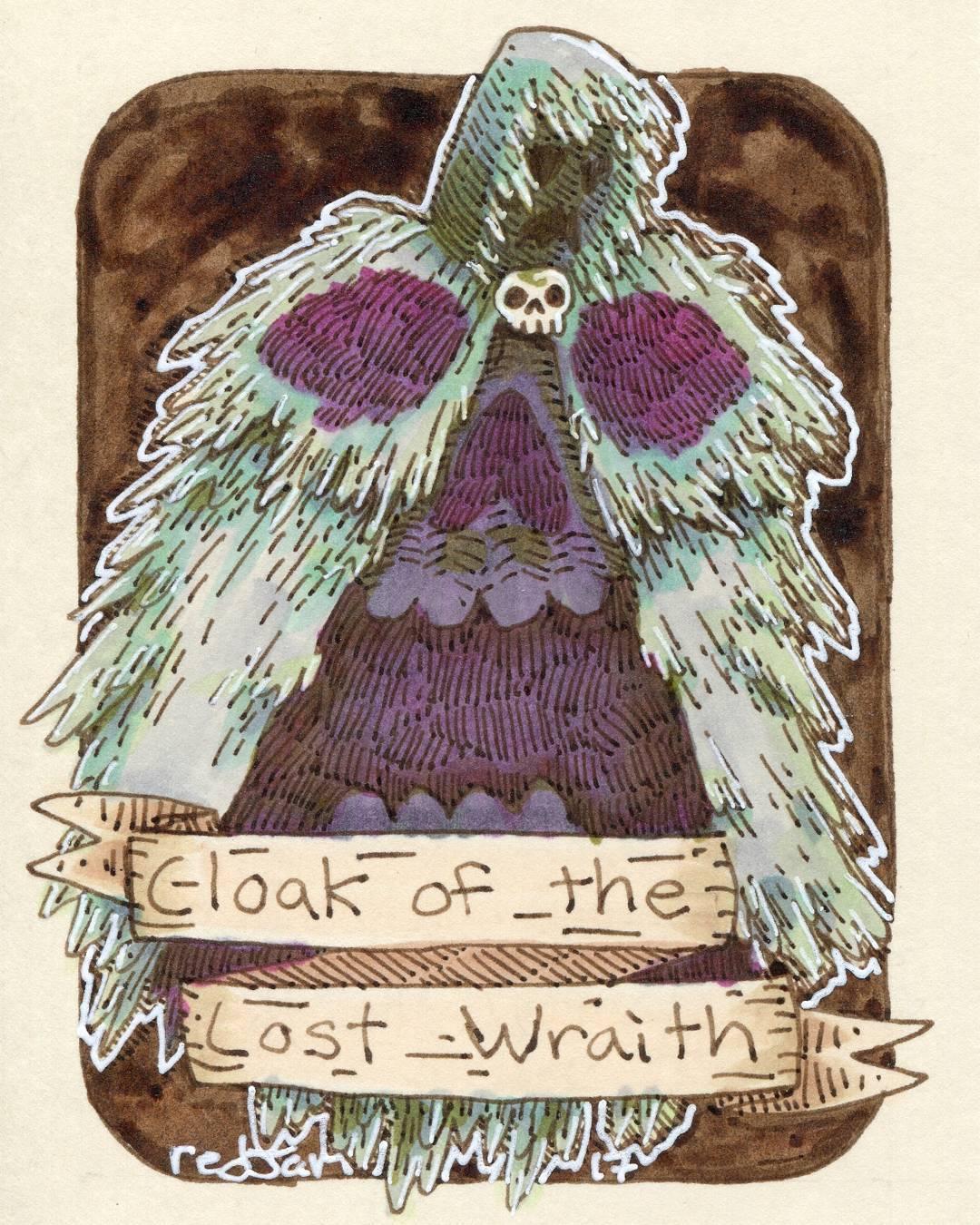 "redjarojam ""Cloak of the Lost Wraith"" - by Jared DeCosta (redjarojam) www.instagram.com/redjarojam (2017-04) © dell'autore tutti i diritti riservati"