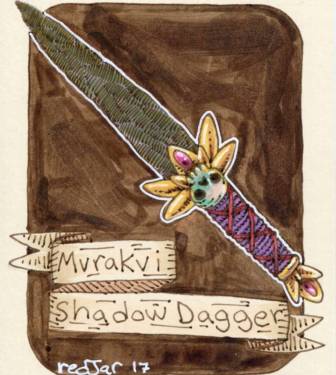 "redjarojam ""Mvrakvi Shadow Dagger"" - by Jared DeCosta (redjarojam) www.instagram.com/redjarojam (2017-04) © dell'autore tutti i diritti riservati"