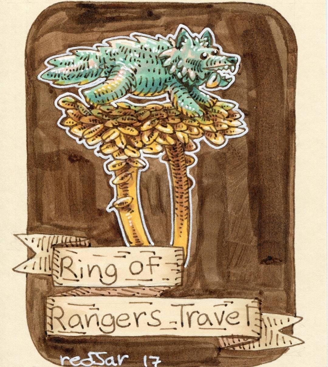 """redjarojam """"Ring of Rangers Travel"""" - by Jared DeCosta (redjarojam) www.instagram.com/redjarojam (2017-04) © dell'autore tutti i diritti riservati"""