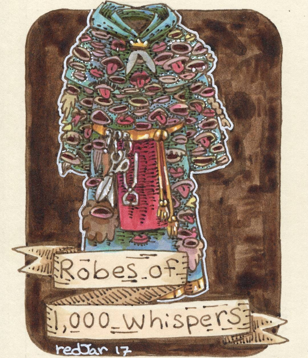 "redjarojam ""Robes of 1000 Whispers"" - by Jared DeCosta (redjarojam) www.instagram.com/redjarojam (2017-03) © dell'autore tutti i diritti riservati"