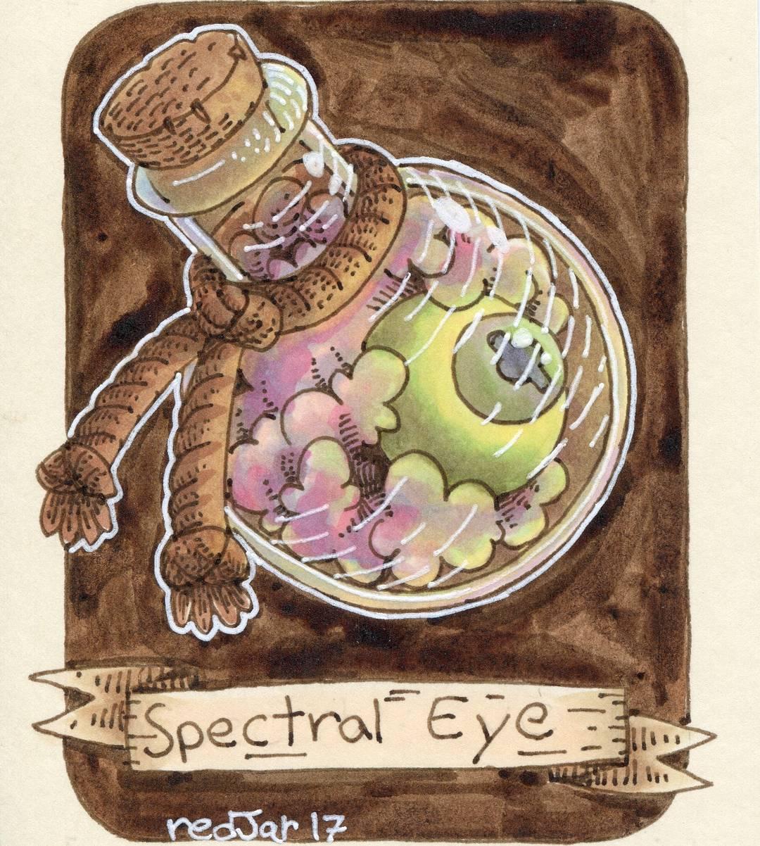 "redjarojam ""Spectral Eye"" - by Jared DeCosta (redjarojam) www.instagram.com/redjarojam (2017-03) © dell'autore tutti i diritti riservati"