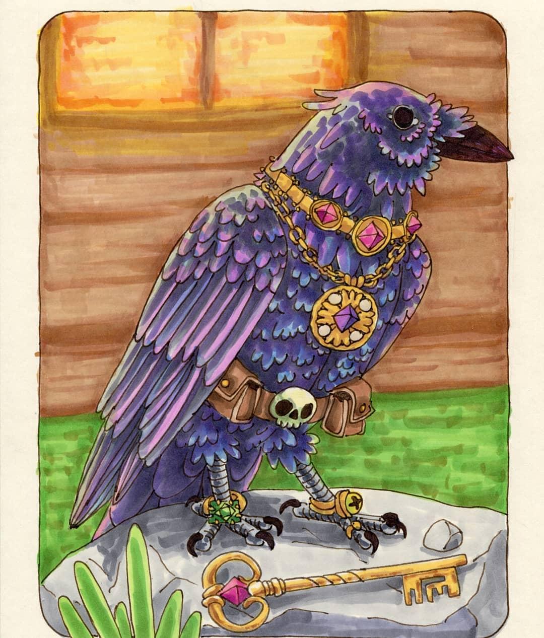 "redjarojam ""Crow"" - by Jared DeCosta (redjarojam) www.instagram.com/redjarojam (2016-2019) © dell'autore tutti i diritti riservati"