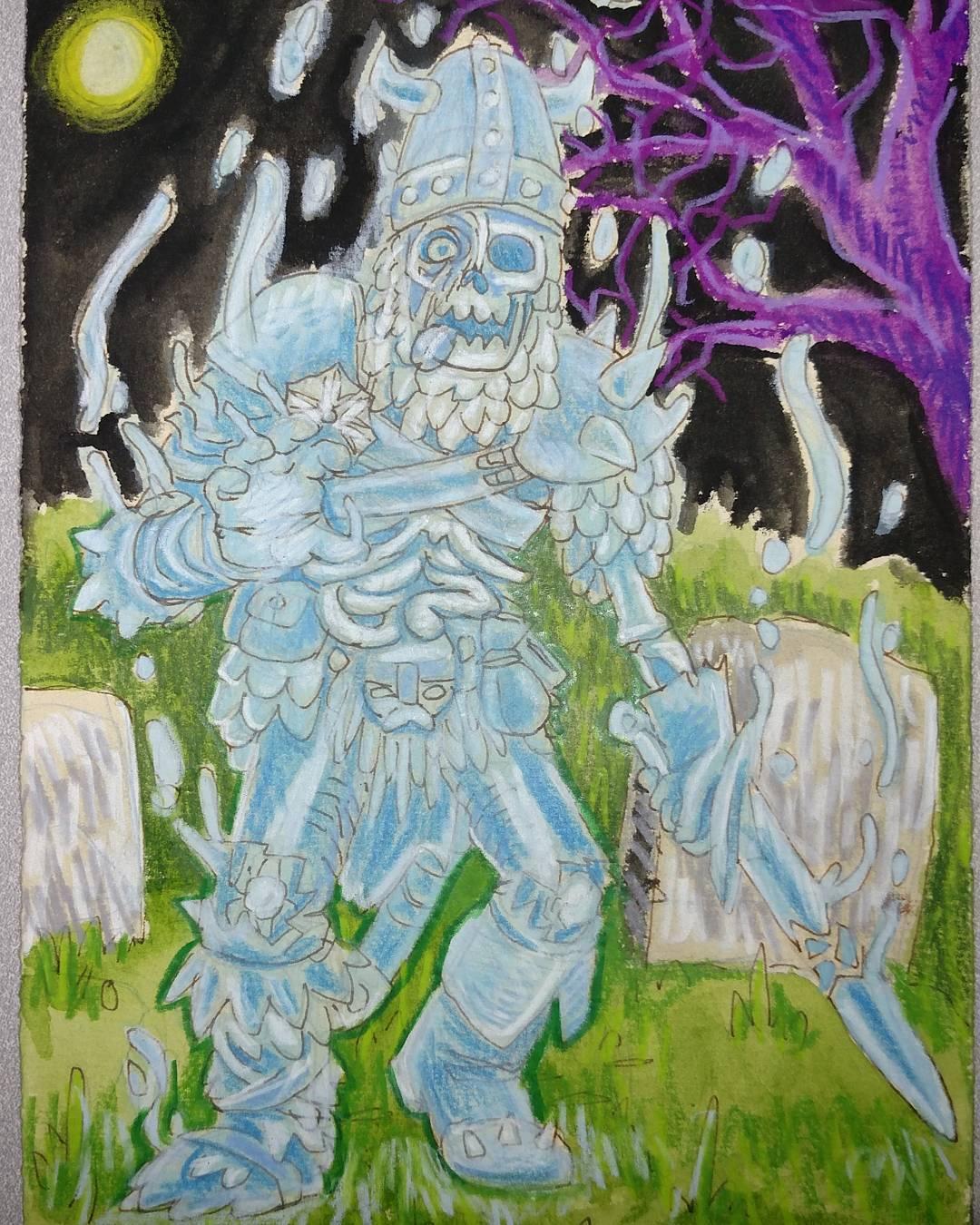 "redjarojam ""Ghost/Skeleton/Zombie"" - by Jared DeCosta (redjarojam) www.instagram.com/redjarojam (2016-2019) © dell'autore tutti i diritti riservati"