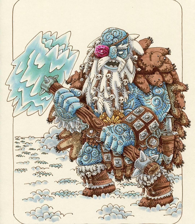 "redjarojam ""Ice Giant"" - by Jared DeCosta (redjarojam) www.instagram.com/redjarojam (2016-2019) © dell'autore tutti i diritti riservati"