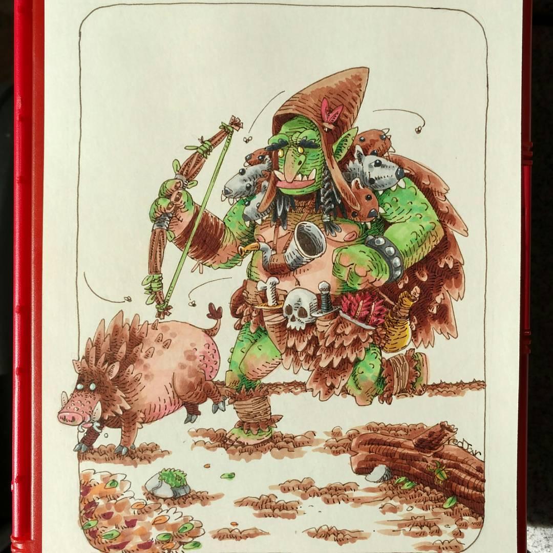"""redjarojam """"Troll Ranger"""" - by Jared DeCosta (redjarojam) www.instagram.com/redjarojam (2016-2019) © dell'autore tutti i diritti riservati"""