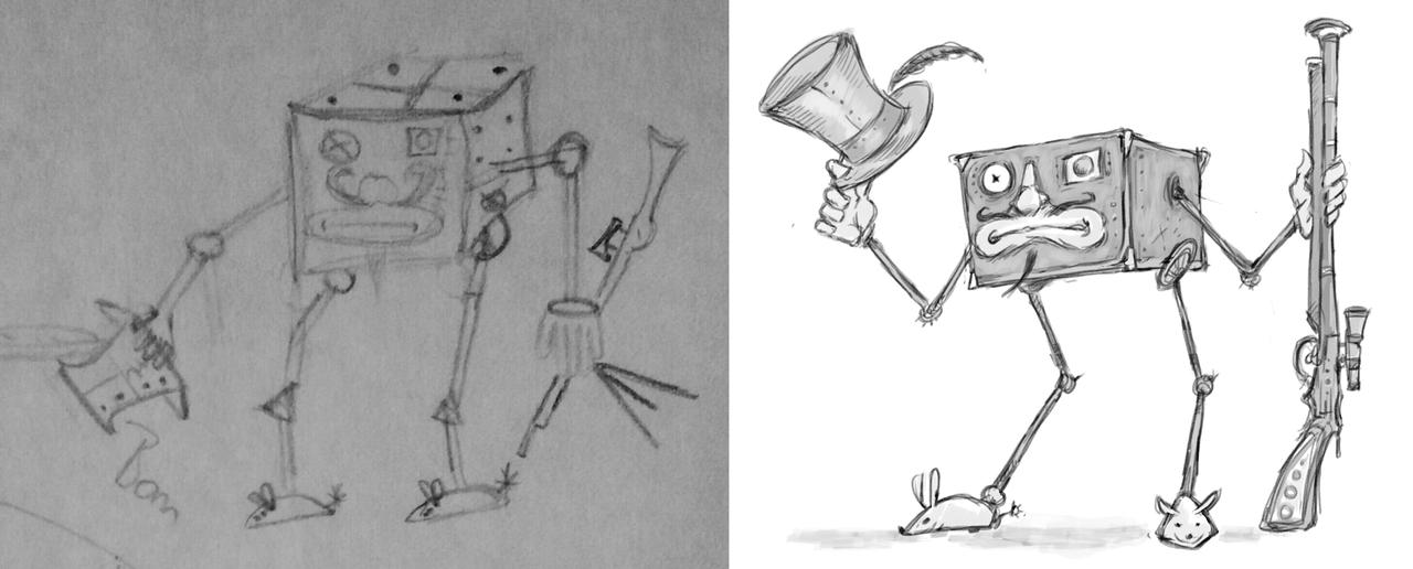 """saintrabouin Scara Mouche """"Shibbarium: Tetradron chasseur"""", un prima/dopo di pg quadrone rinnegato - by Baptiste (Scara Mouche) saintrabouin.tumblr.com (2018-02) © dell'autore tutti i diritti riservati"""