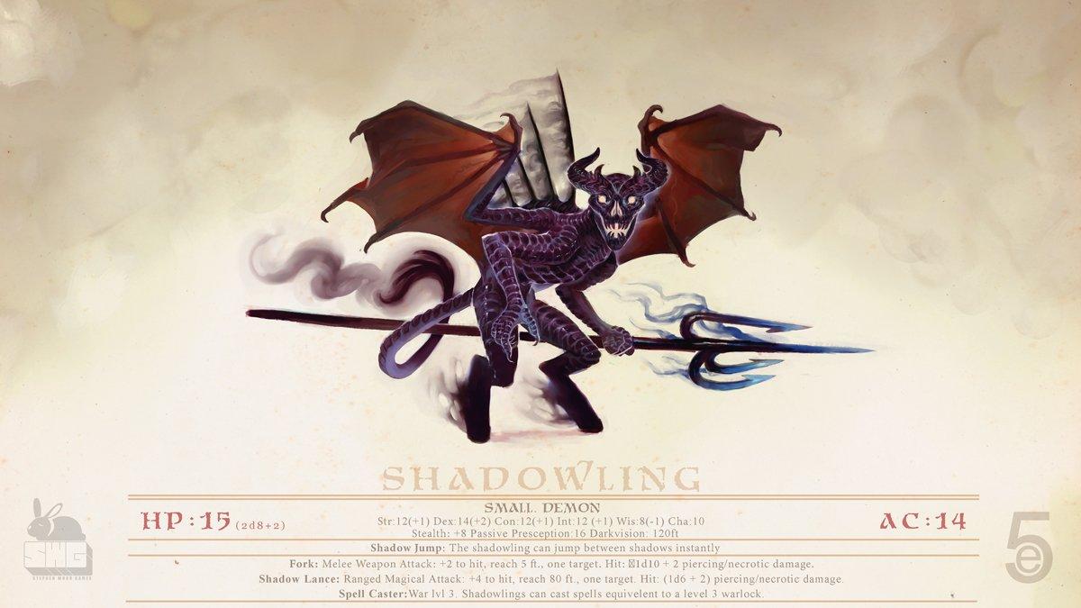 stephen-wood Shadowling Demon - by Stephen Wood twitter.com/stevethegoblin (2018-12) © dell'autore, tutti i diritti riservati