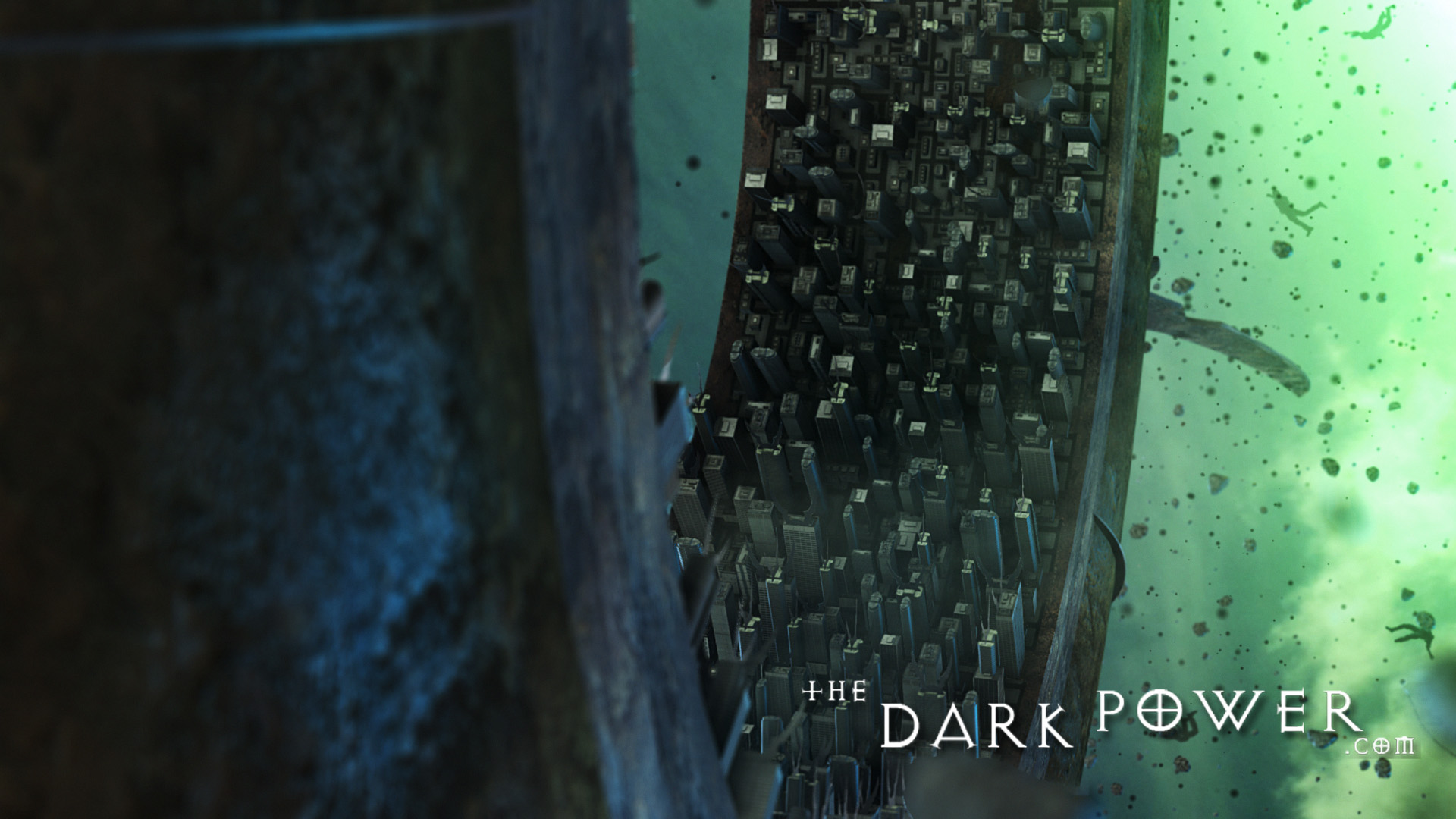 the-dark-power La città di Sigil in grafica CGI, screenshot 4 - by The Dark Power (Joe) thedarkpower.com (2018-11) © dell'autore, tutti i diritti riservati