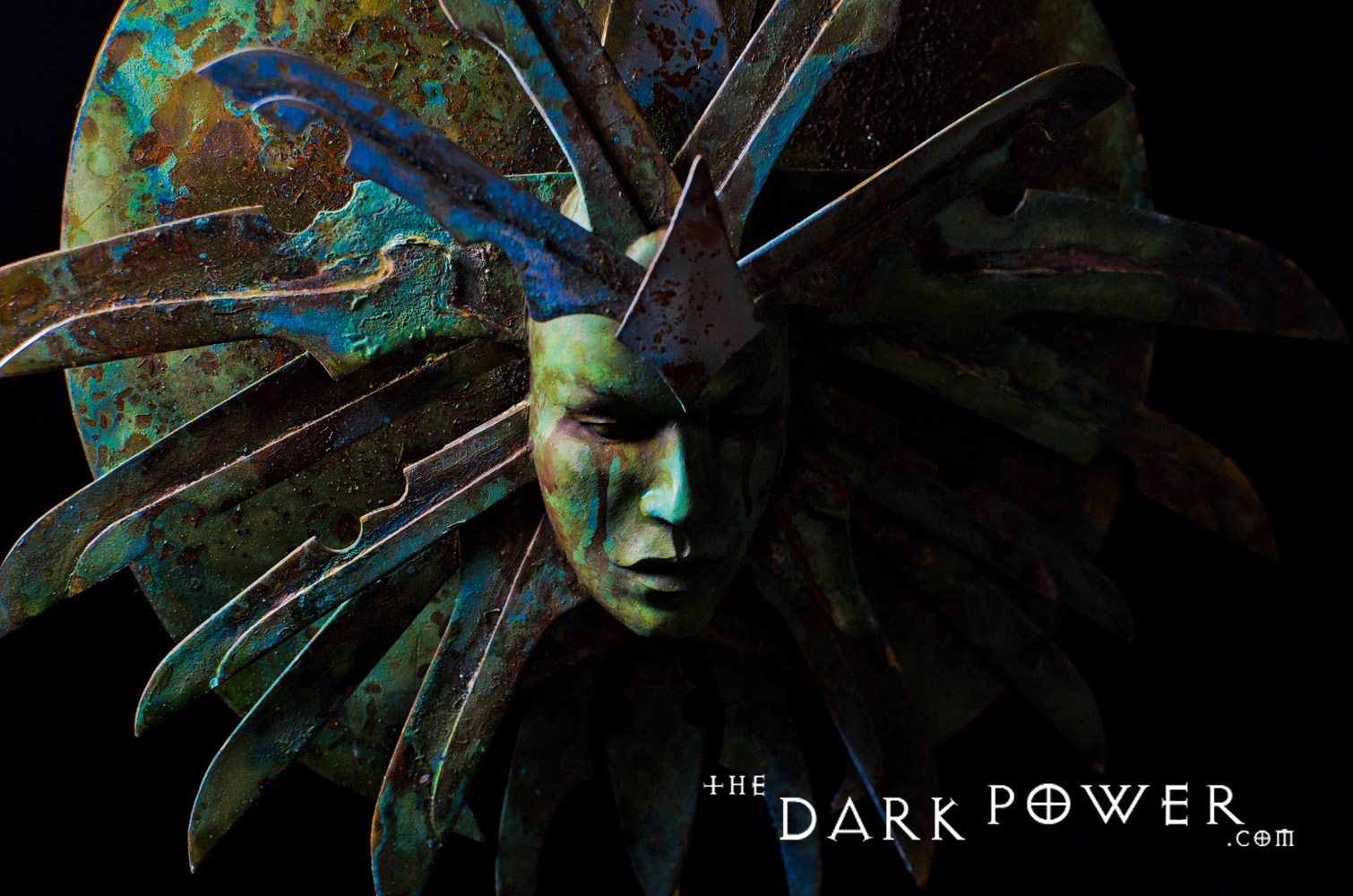 "the-dark-power ""The Lady of Pain"", dettaglio 1 - by The Dark Power (Joe) thedarkpower.com (2018-11) © dell'autore, tutti i diritti riservati"