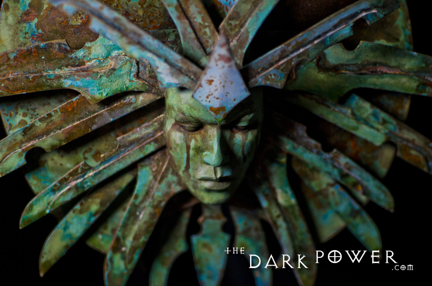 "the-dark-power ""The Lady of Pain"", dettaglio 3 - by The Dark Power (Joe) thedarkpower.com (2018-11) © dell'autore, tutti i diritti riservati"