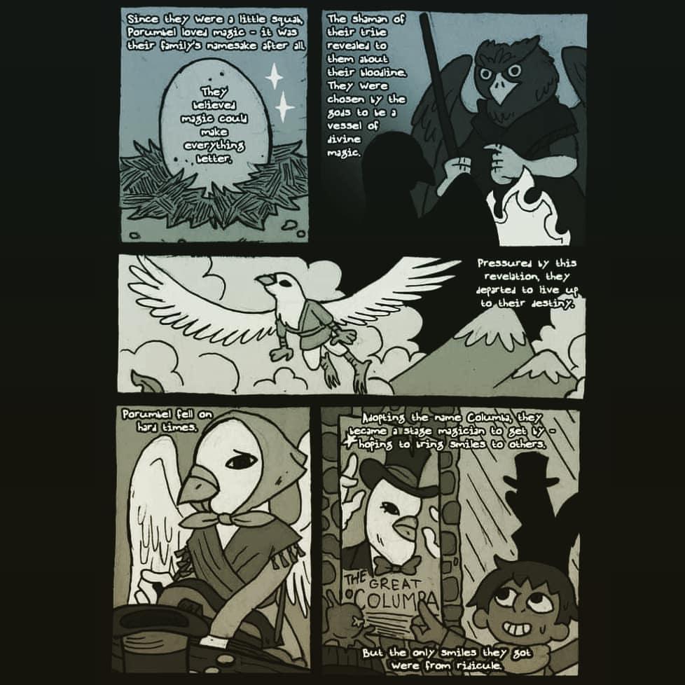 """zal001 """"Columba backstory"""" - by Austin """"Zal"""" Forbes www.pictosee.com/zal_arts (2019) © dell'autore tutti i diritti riservati"""
