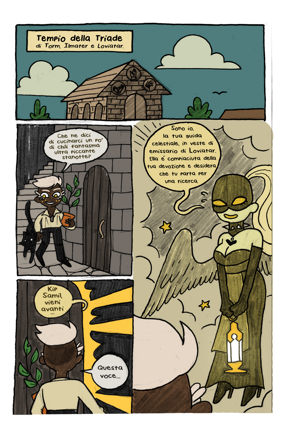 Painscape - page 07 - Webcomic by Austin Zal001 Forbes - Italian translation (2020)