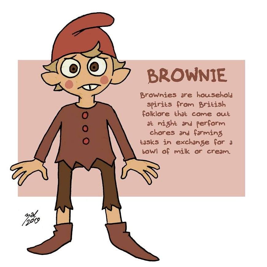 """zal001 """"Brownie"""" - by Austin """"Zal"""" Forbes zal-art.tumblr.com (2019) © dell'autore tutti i diritti riservati"""