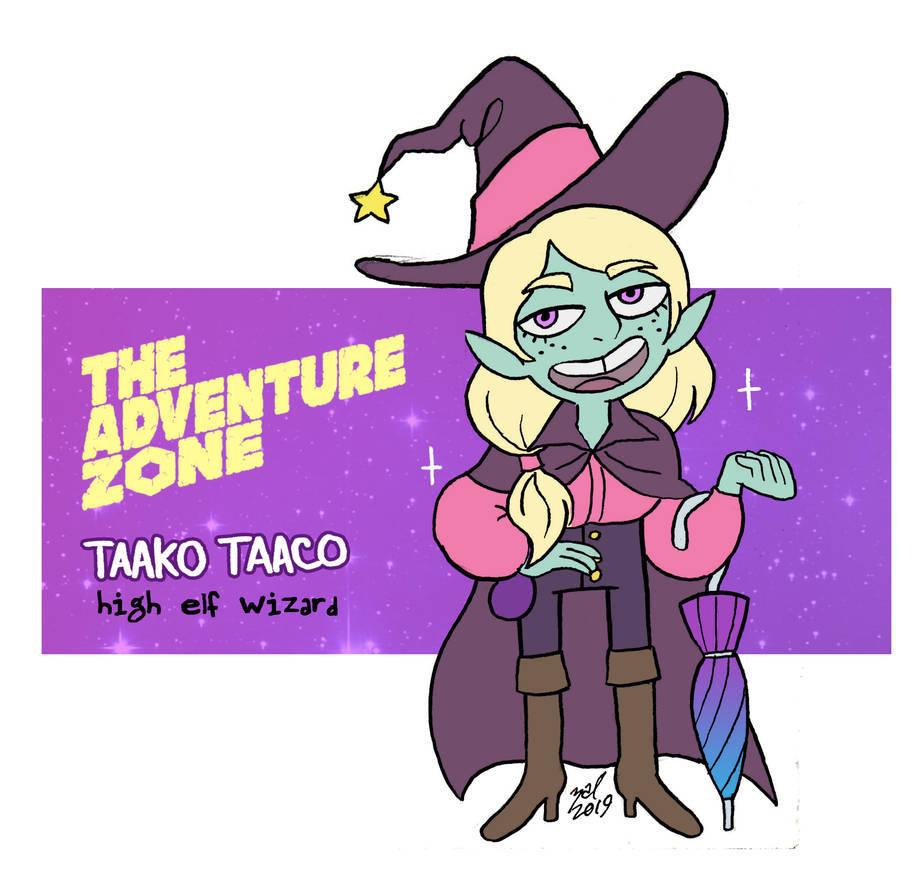 "zal001 ""Taako Taaco"", fanart di The Balance Arc - by Austin ""Zal"" Forbes zal-art.tumblr.com (2019) © dell'autore tutti i diritti riservati"