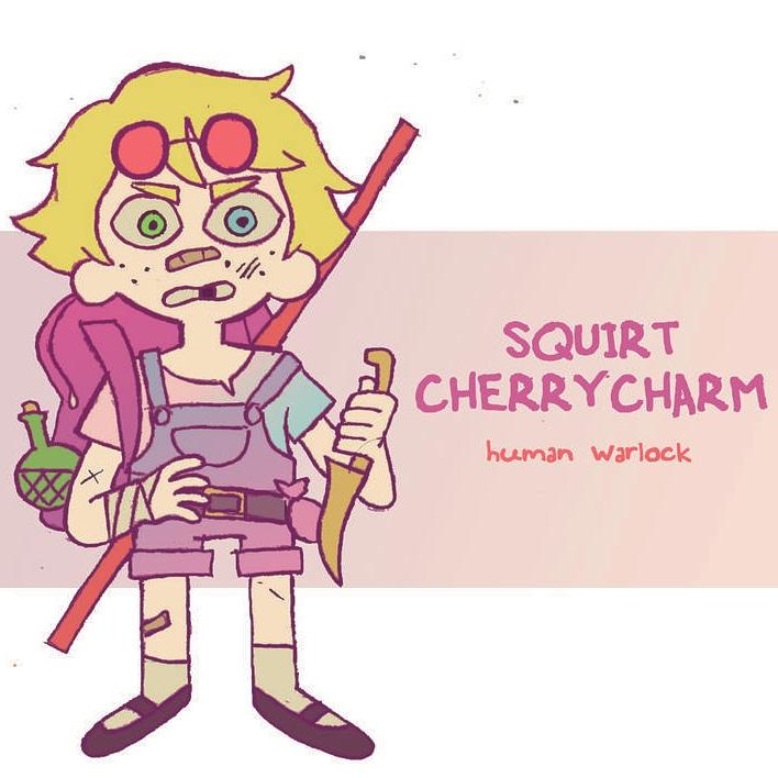 "zal001 ""Squirt Cherrycharm"" - by Austin ""Zal"" Forbes www.deviantart.com/zal001 (2019) © dell'autore tutti i diritti riservati"
