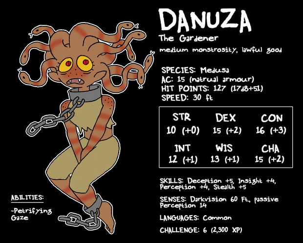 "zal001 ""Danuza"", medusa - by Austin ""Zal"" Forbes www.deviantart.com/zal001 (2018) © dell'autore tutti i diritti riservati"
