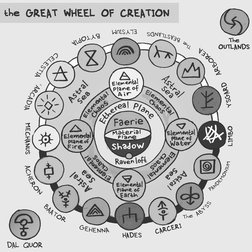 "zal001 ""The Great Wheel of Creation"" - by Austin ""Zal"" Forbes zal-art.tumblr.com (2020-01) © dell'autore tutti i diritti riservati"