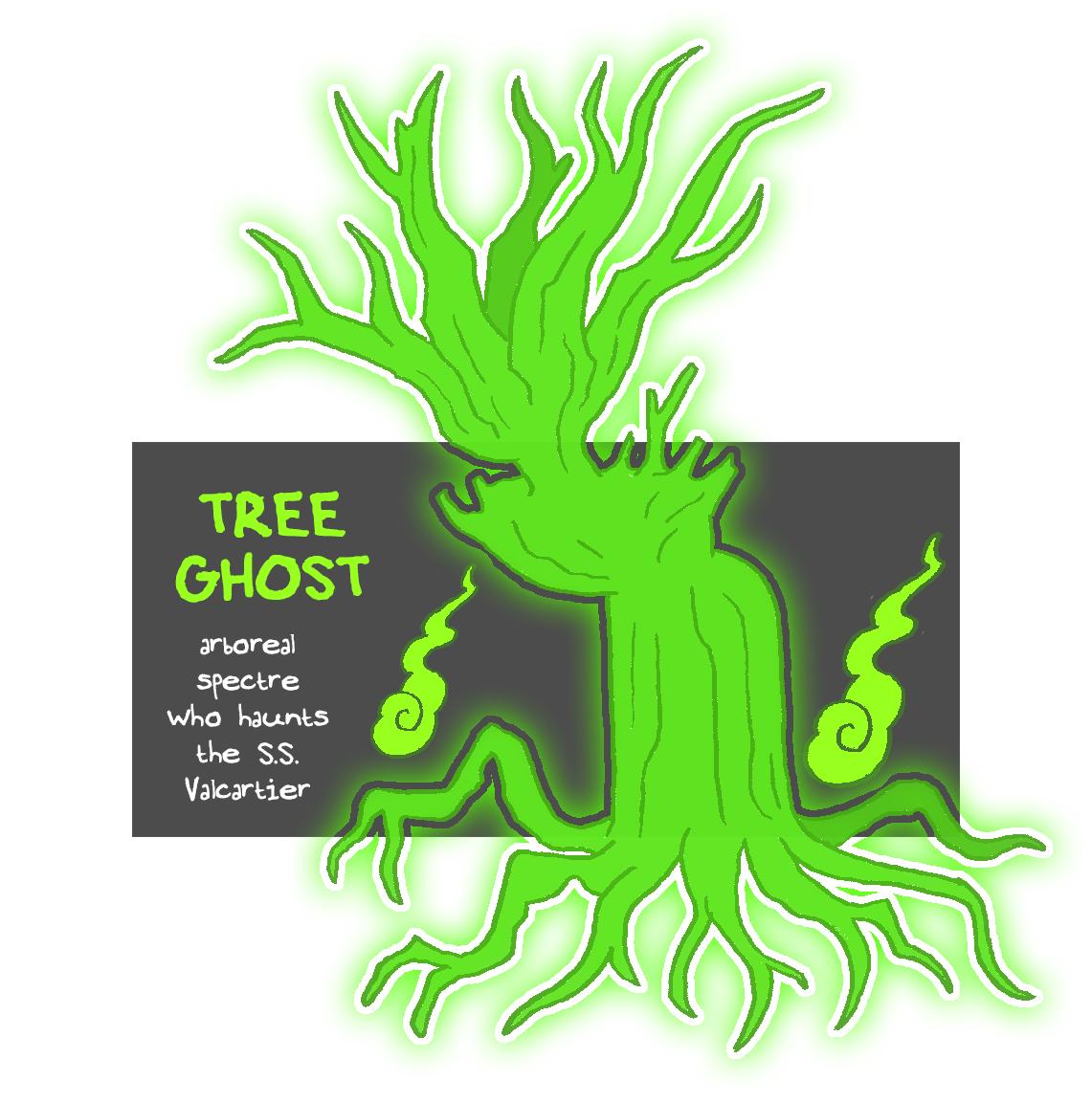 "zal001 ""Tree Ghost"", un fantasma vegetale... - by Austin ""Zal"" Forbes www.deviantart.com/zal001 (2018) © dell'autore tutti i diritti riservati"